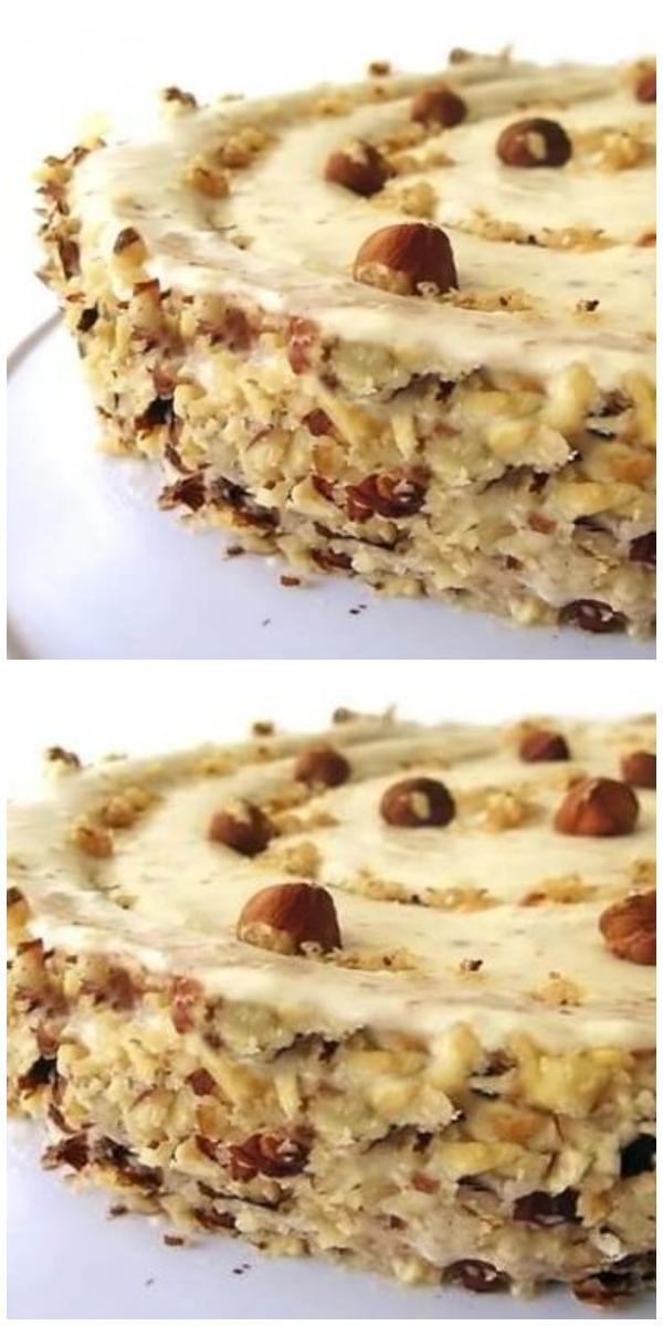 Божественный ореховый торт