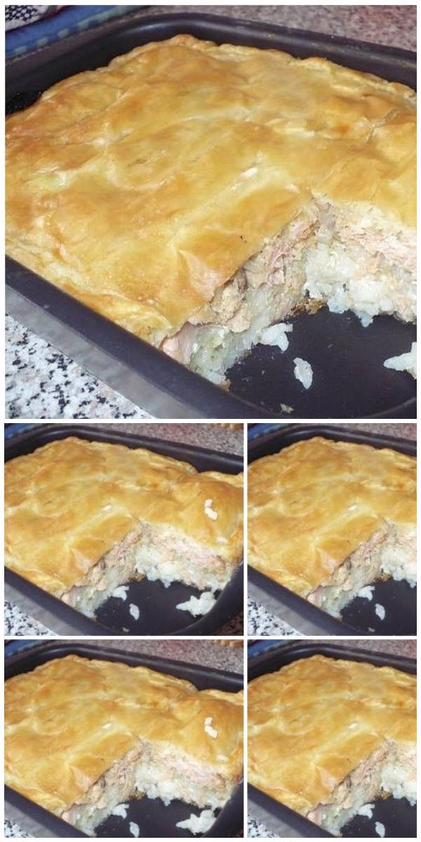 Рыбный пирог - вкуснотище!