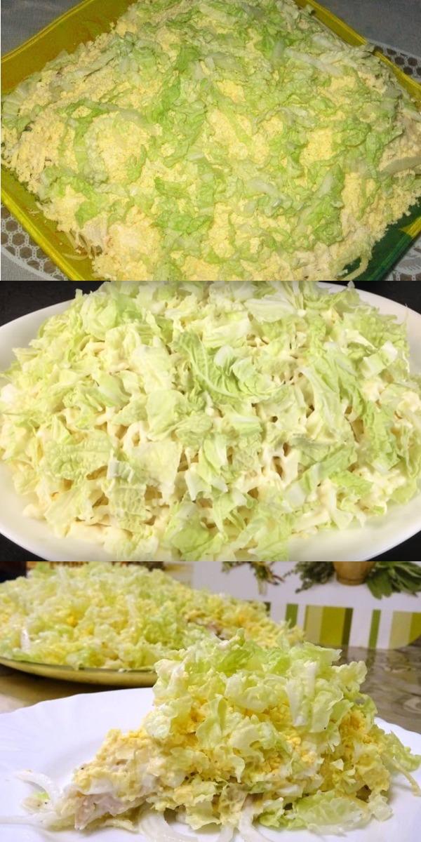 Салат «Лебединый пух» можно готовить хоть каждый день