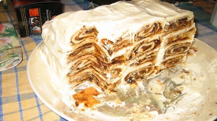 Торт «Веселая карусель». Очень нежный и оригинальный