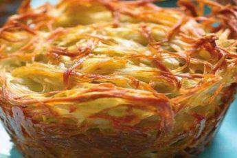 Овощной кугель – безумно вкусно, быстро и легко! Рецепт из старой записной книжки мамы.