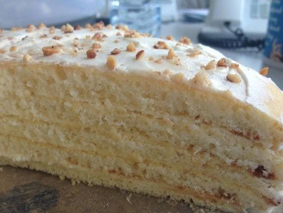 """Торт """"Молочная девочка"""" - самый любимый торт в нашей семье"""