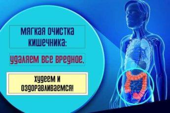 Мягкая очистка кишечника: удаляем все вредное, худеем и оздоравливаемся!