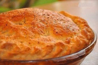 Лучшего теста для наливных пирогов просто не бывает!