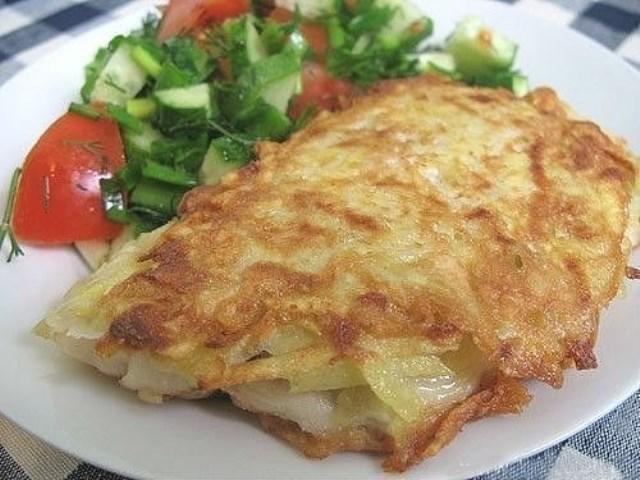 ribka v kartofelinoi korocike