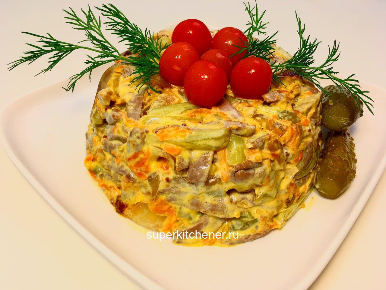 Из чего этот салатик? А вы приготовьте и узнаете