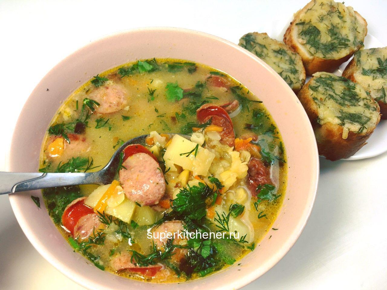 Частый гость на нашем столе! Приготовьте этот суп и сытный обед вам обеспечен!