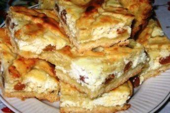 Рекомендую приготовить обалденный песочный пирог с творожной начинкой! Вкуснотище!