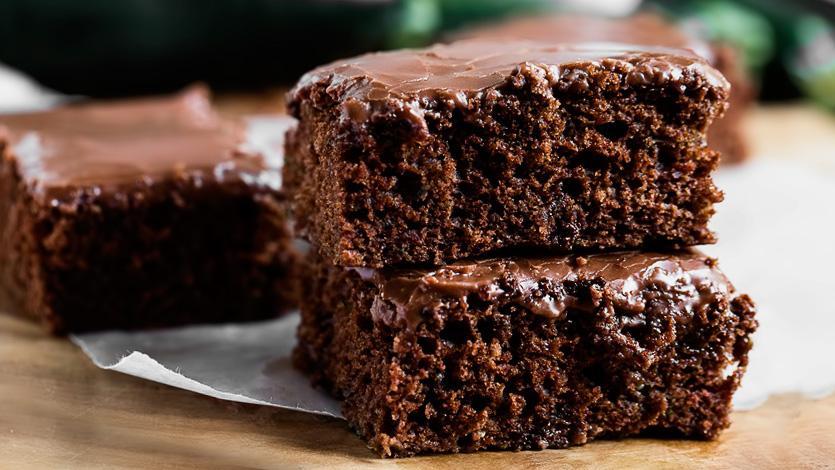 Самый Быстрый пирог на кефире с шоколадом