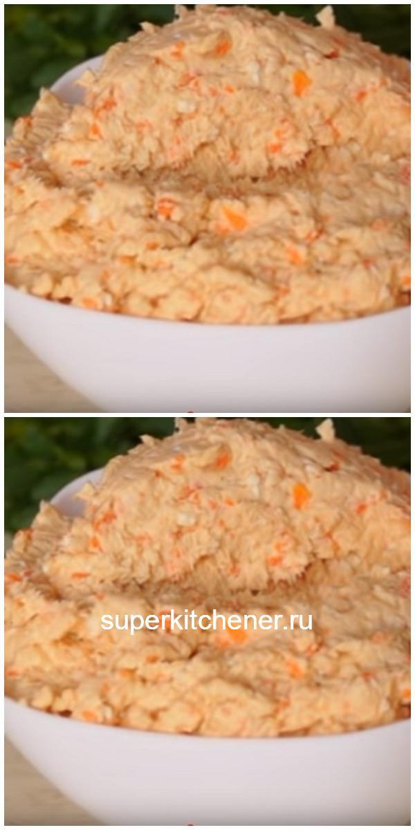 Паштет из куриного филе с плавленым сыром забудьте о колбасе!