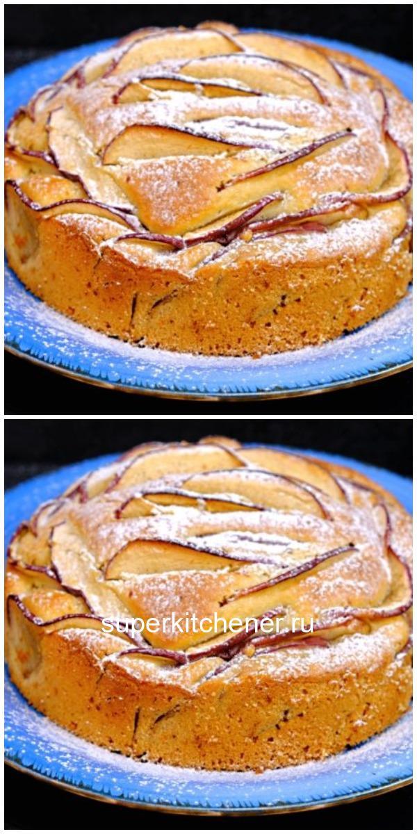 Пирог-новинка из любимой кулинарной книги «Самый яблочный пирог»