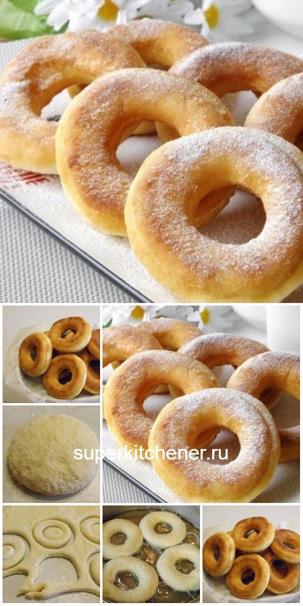 Пончики на кефире — фирменный рецепт моей мамы