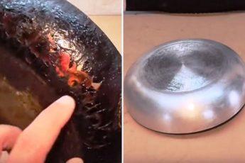 Вот как очистить посуду от нагара. Блестит, как новая! Это действительно работает 1