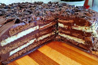 Трюфельный торт без выпечки всего за 15 минут 1