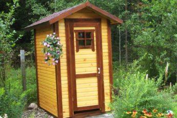 Бабушка из деревни подсказала, как убрать запах в уличном туалете. Я был приятно удивлён 1